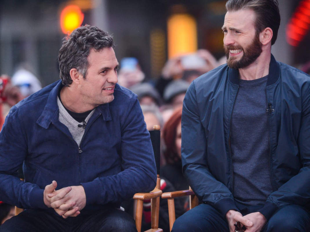 Mark Ruffalo comes out in support of Chris Evans after he accidentally leaks explicit photo