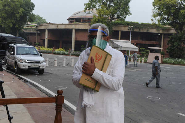 Parliament's monsoon session begins amid pandemic