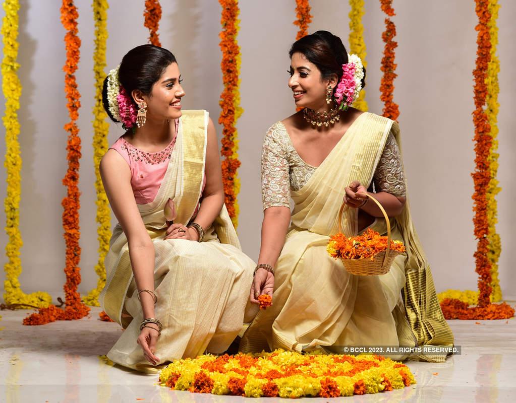 Lakshmi Menon and Archana Ravi's Onam photoshoot