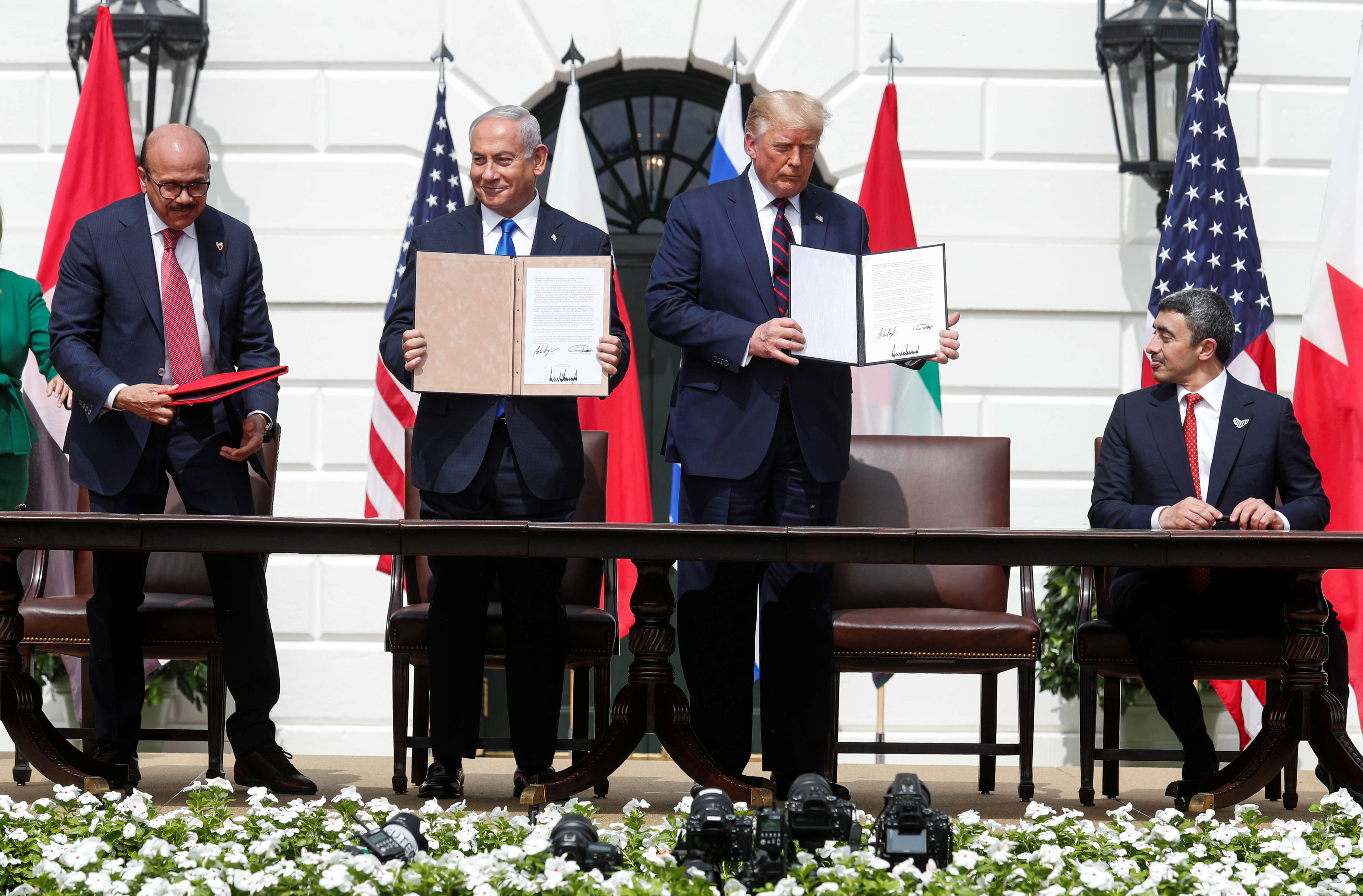 UAE and Bahrain sign deals with Israel