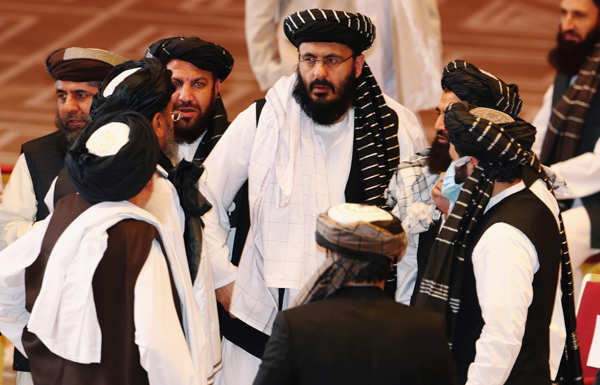 Historic peace talks between Afghan govt and Taliban open in Qatar