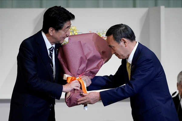 Yoshihide Suga becomes Japan's new PM