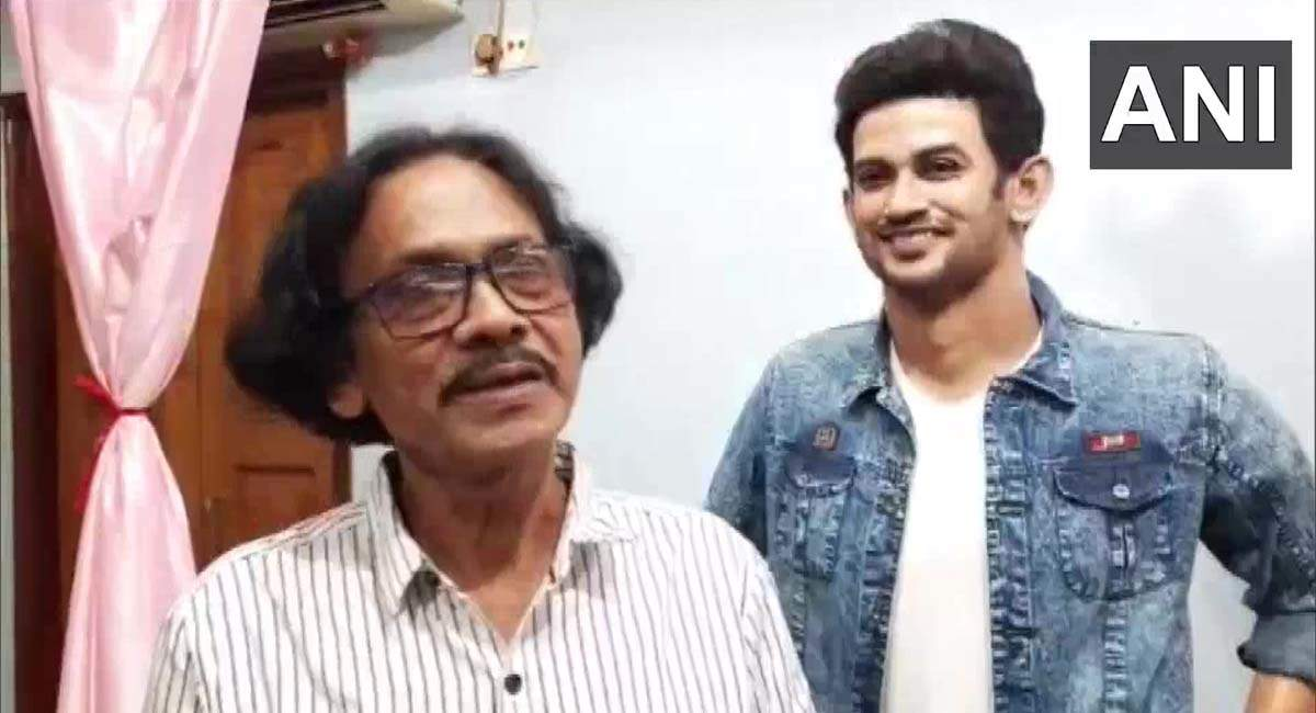 Artist from West Bengal creates wax statue of Sushant Singh Rajput