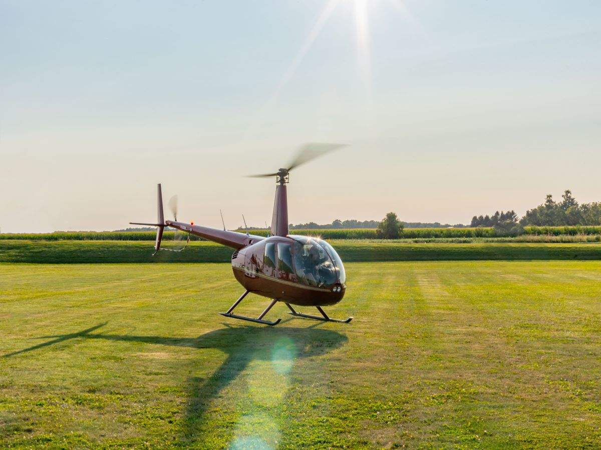 Now, enjoy helicopter rides with your loved ones in Bengaluru for just INR 3500