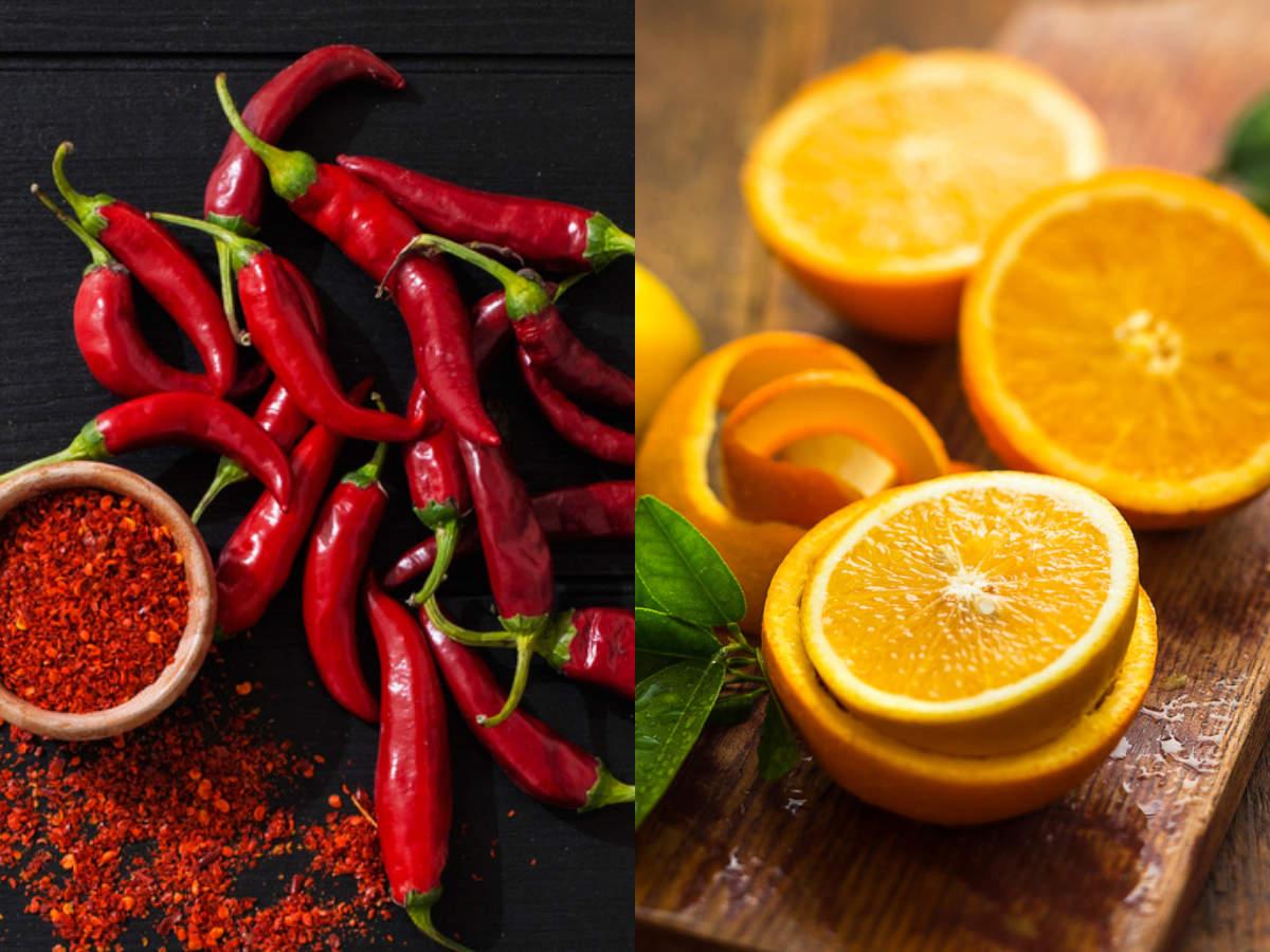 Hot pepper has more Vitamin C than oranges