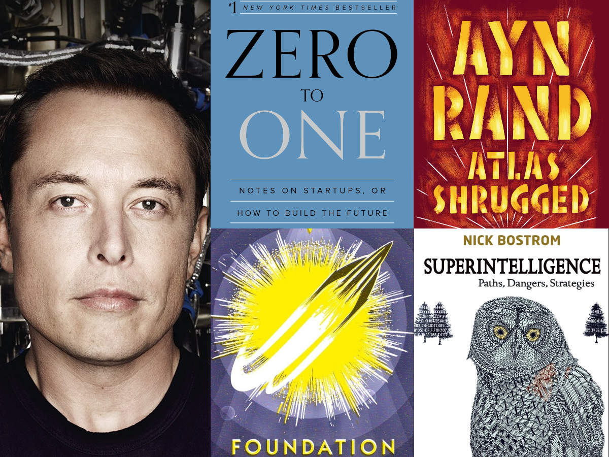 20 books Tesla CEO Elon Musk wants you to read