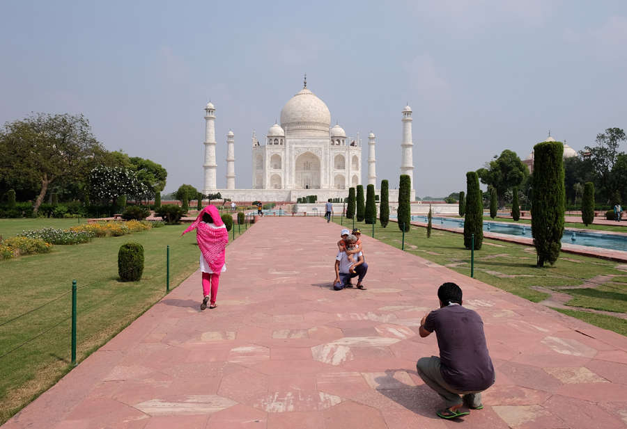 Taj Mahal re-opens for public after six months