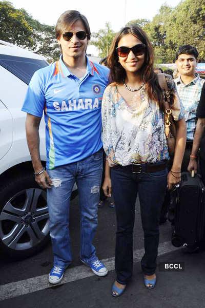 Celebs leave for Mohali