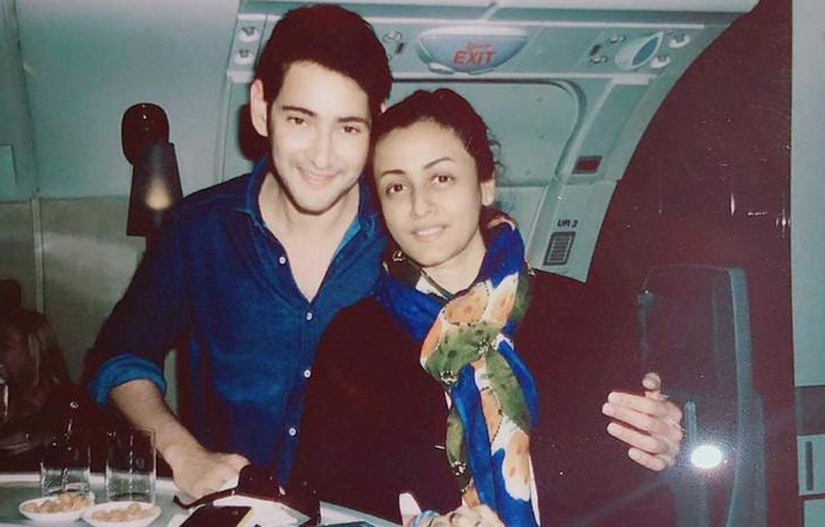 Mahesh Babu's adorable birthday wish for wife Namrata Shirodkar