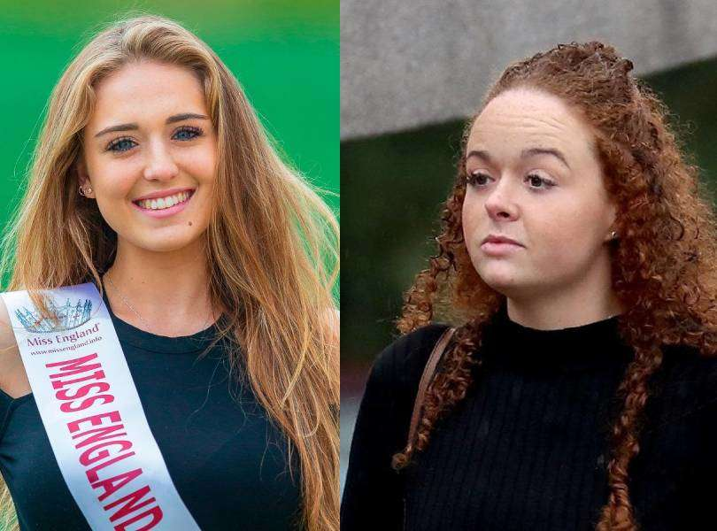 Woman scars beauty queen's face with a wineglass; receives a two-year suspended sentence
