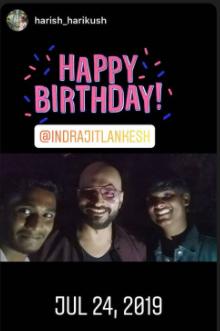 Indrajeet fan posts
