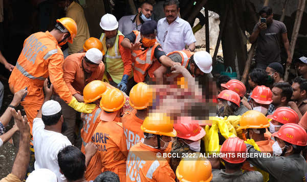 Building collapse: 15 kids among 35 killed in Bhiwandi