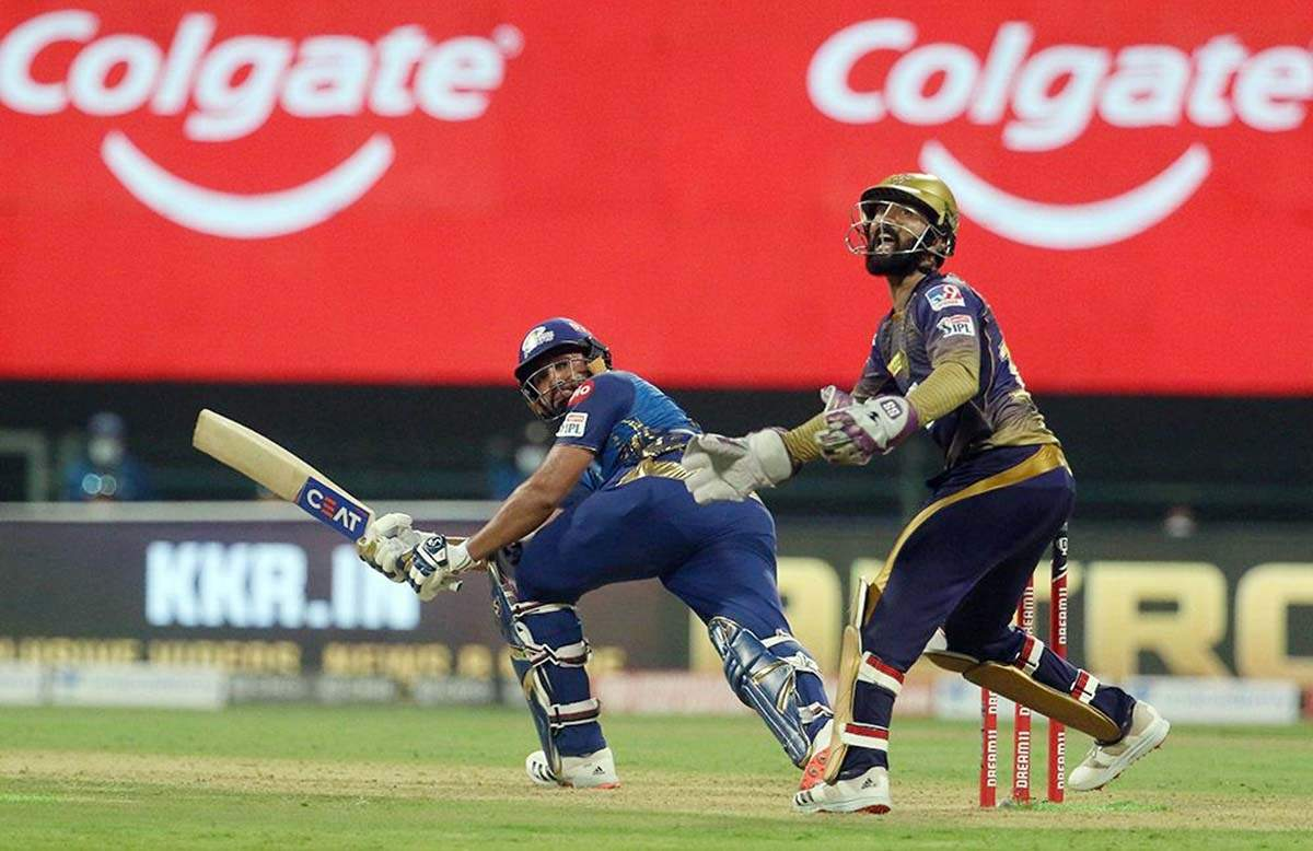 Rohit Sharma completes 200 sixes in IPL; MI beat KKR by 49 runs