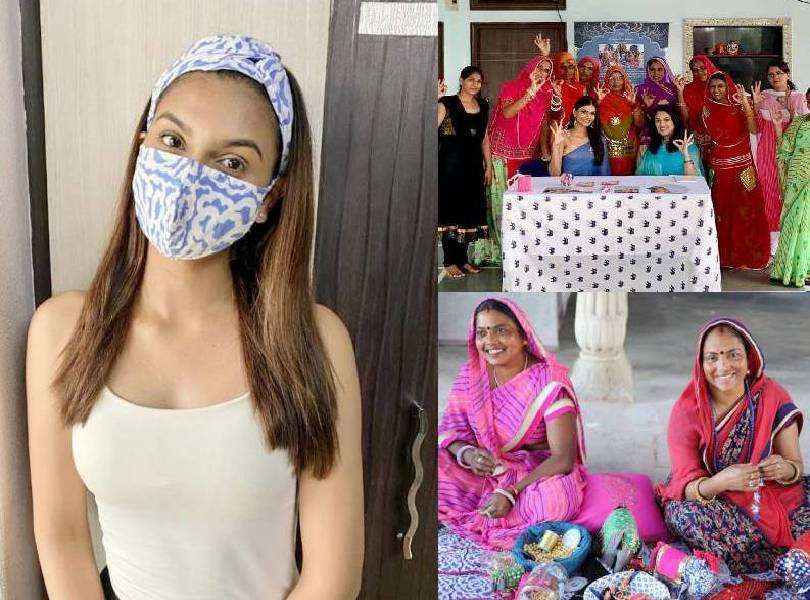 Suman Rao extends her support to the women of PDKF amid pandemic
