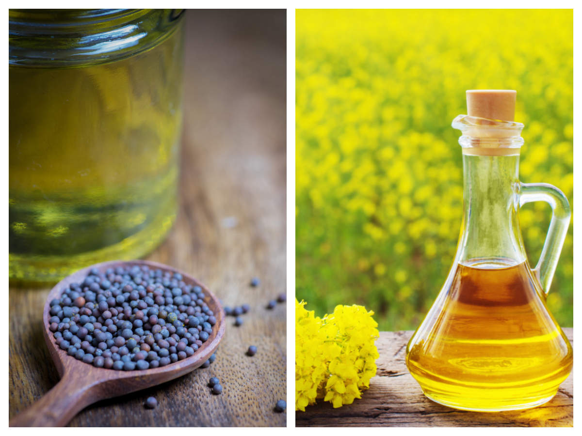 FSSAI bans mixing of edible oils in mustard oil from 1st October | The Times of India