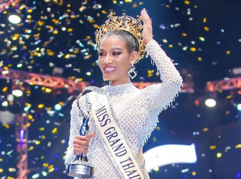 Beauty queen targeted and abused for voicing her political opinion