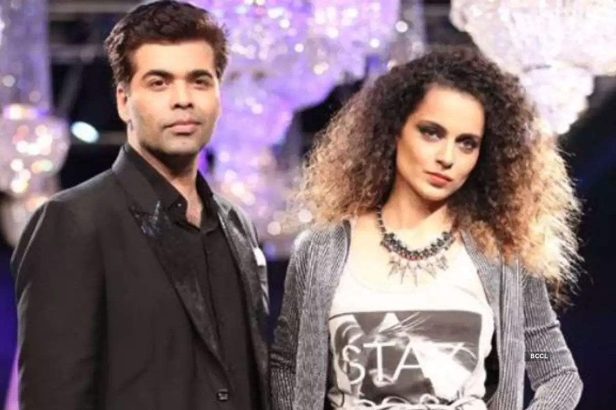 Kangana Ranaut's spat with known personalities