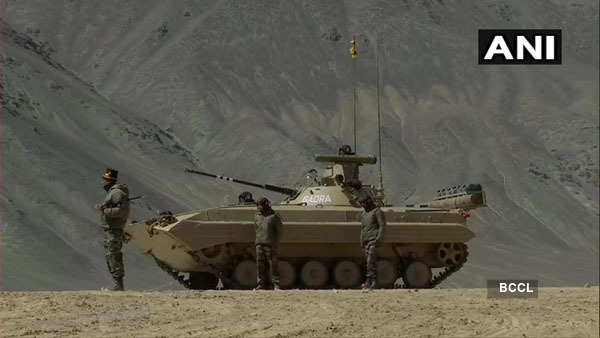 Indian Army deploys T-72, T-90 tanks in eastern Ladakh to counter China