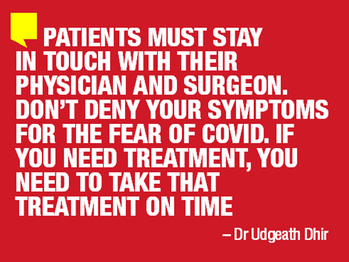 Patients should stay in touch with their physician or surgeon