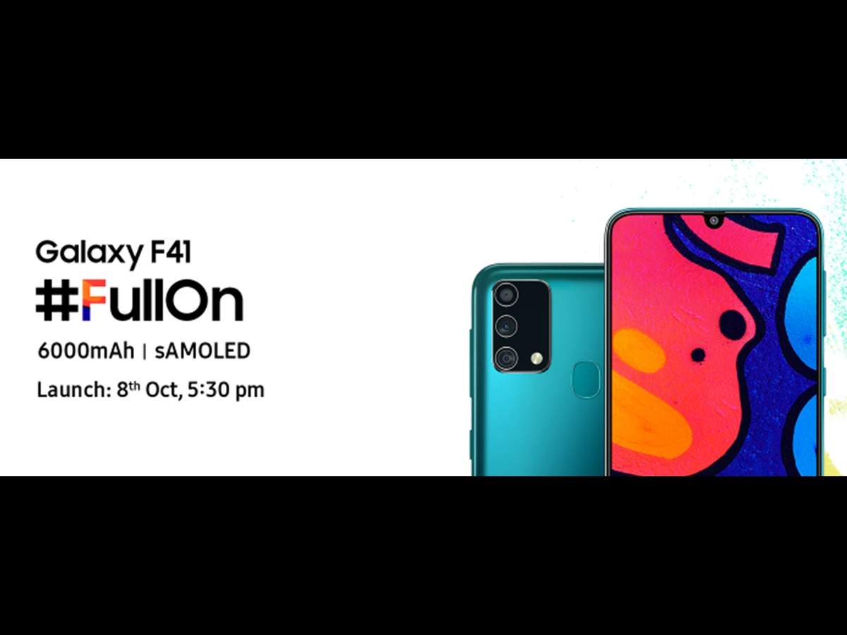 Samsung Galaxy F41 Is Flipkart S Latest Fullon Hero Curated For The Young And The Flamboyant Gadgets Now