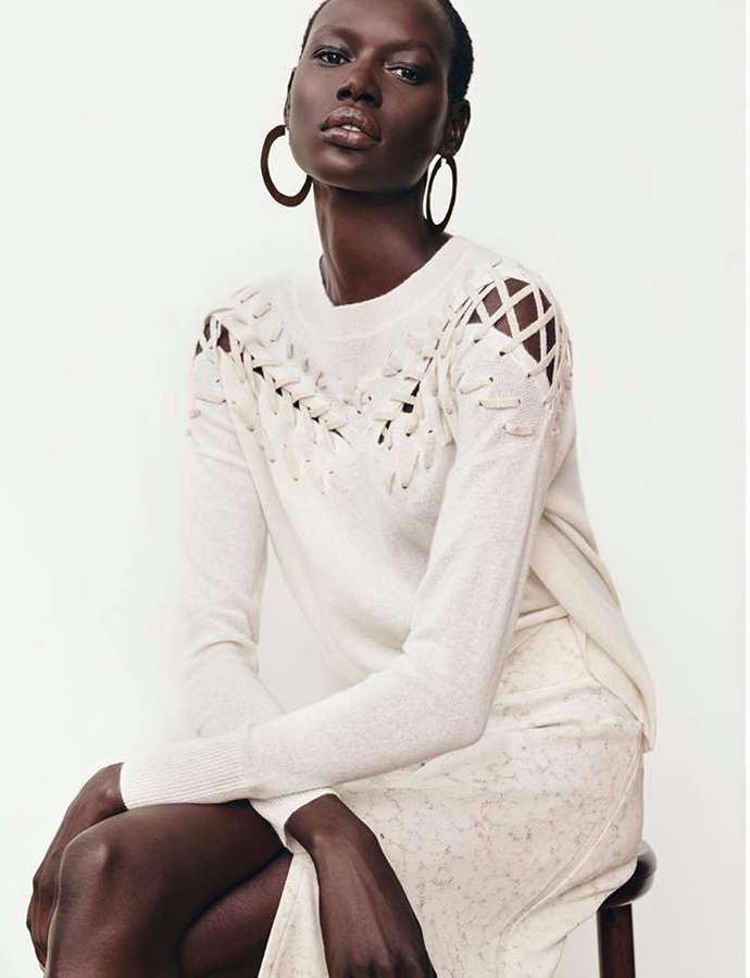 Super model Ajak Deng known for her beauty