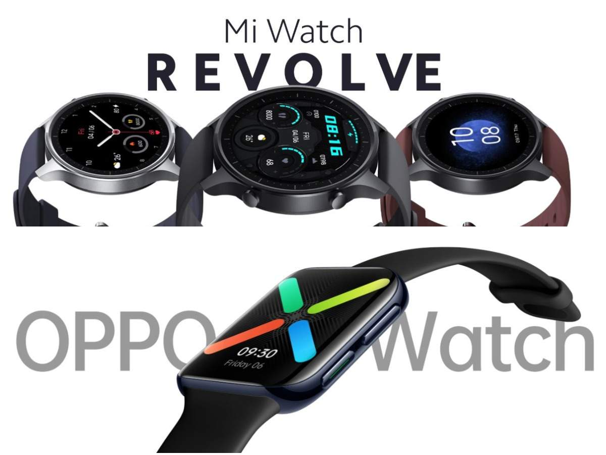 Xiaomi launches its first-ever smartwatch in India: How it compares to rival Oppo Watch
