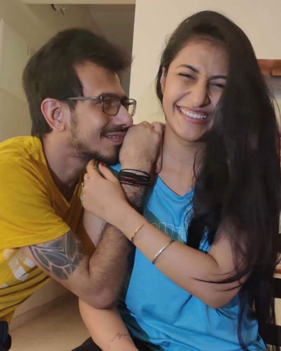 Yuzvendra Chahal makes fiance Dhanashree Verma's b'day special with video call and roses