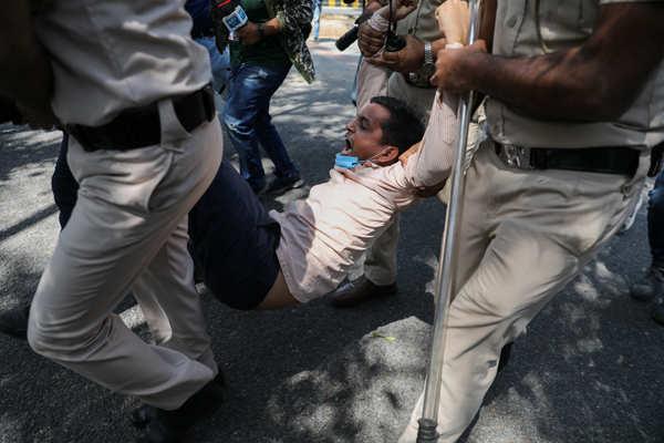 Protests erupt over death of Hathras gangrape victim