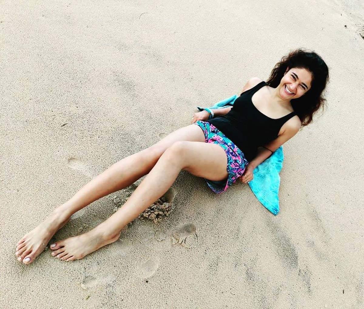 Telugu actress Poonam Bajwa shares beautiful sun kissed pictures