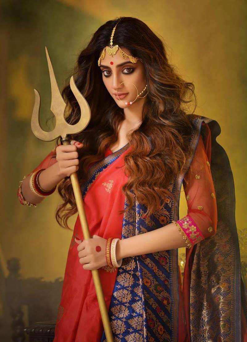 Actress-MP Nusrat Jahan gets death threats for posing as Durga; seeks security for London shoot