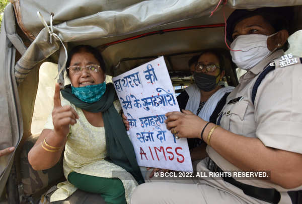 Protests intensified over death of Hathras gang-rape victim