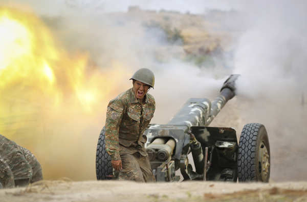 Fierce war erupts between Armenia and Azerbaijan