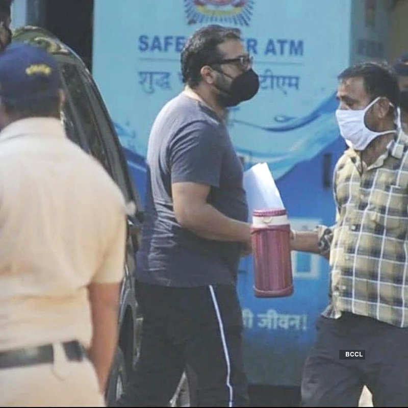 Sexual assault case: Pictures of Anurag Kashyap reaching police station for questioning