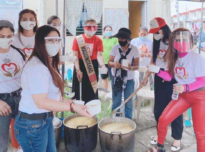 Beauty queens of Queen of Hearts Foundation distributed meals amid pandemic