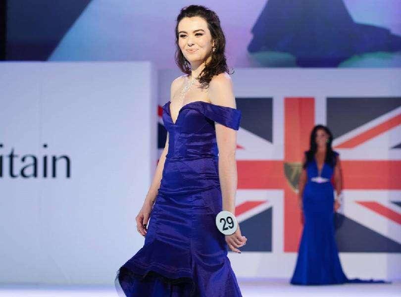 Ella Baker-Roberts virtually crowned Miss Earth England 2020