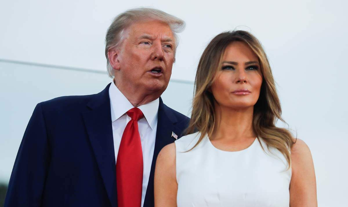 US President Donald Trump and first lady Melania test positive for Covid-19