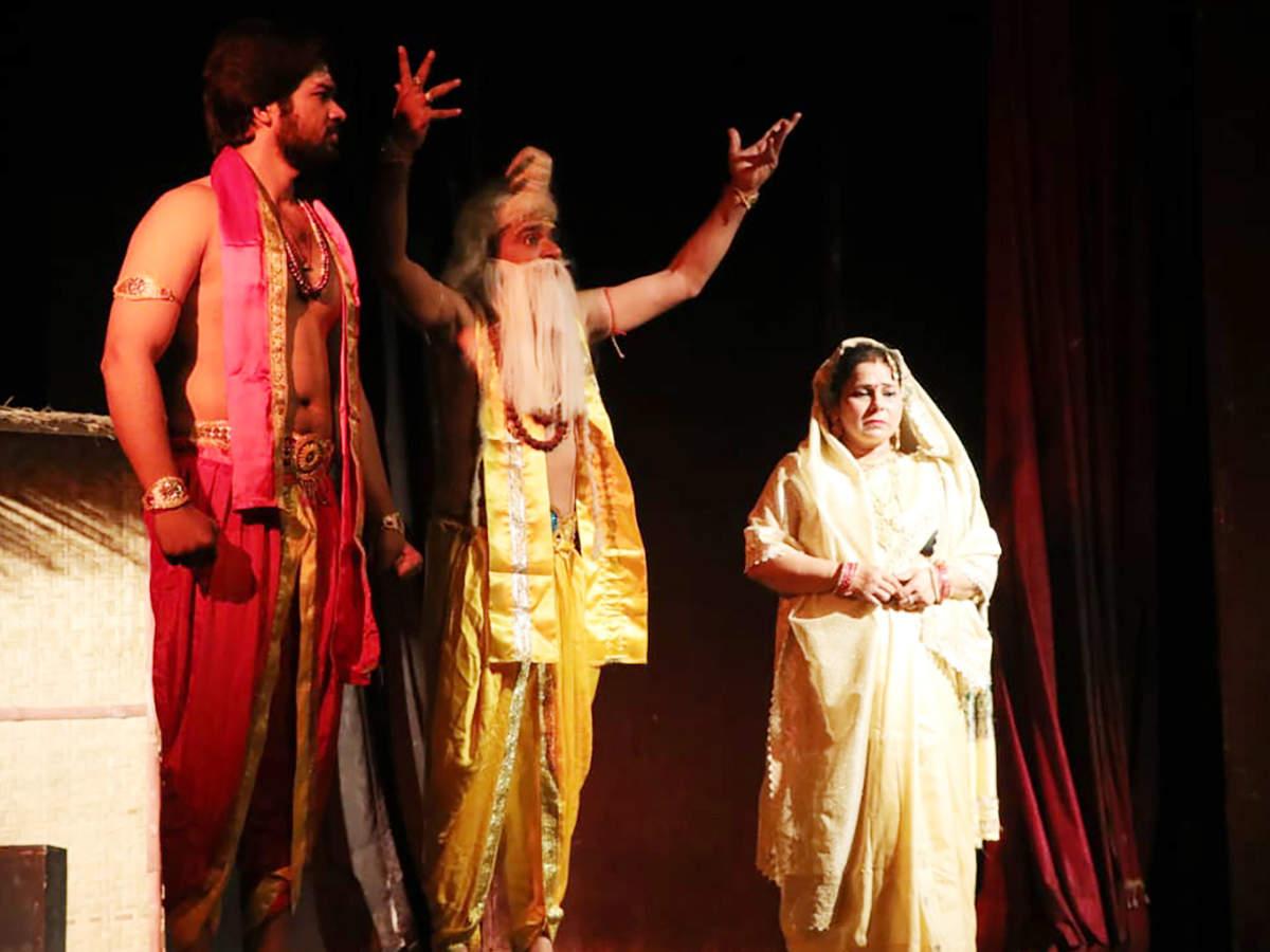 A scene from the play Ek Aur Dronacharya (BCCL)