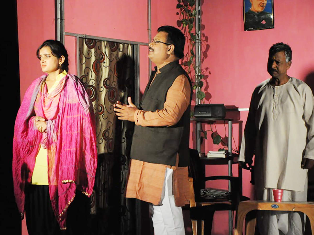 A scene from the play Purush (BCCL)