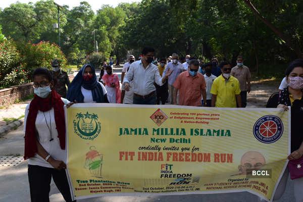 Jamia Millia Islamia celebrates Gandhi Jayanti