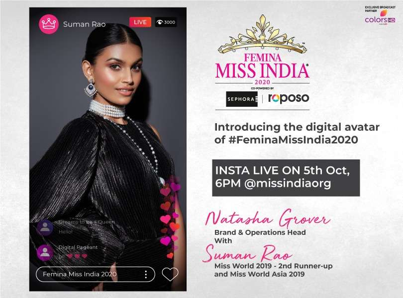 Introducing The Digital Avatar Of Vlcc Femina Miss India 2020 Beautypageants I highly recommend you read not more than two articles a day. vlcc femina miss india 2020
