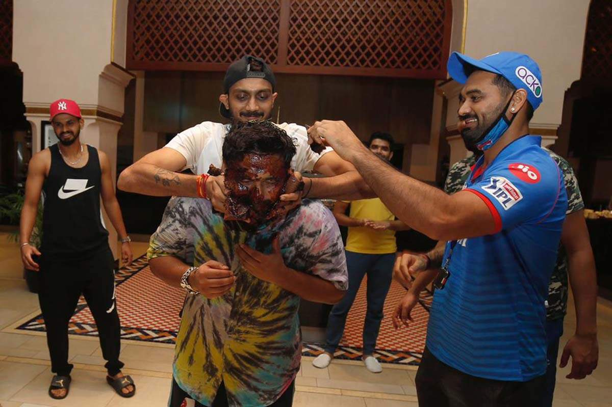 Fun pictures from Rishabh Pant's birthday party amid IPL tournament