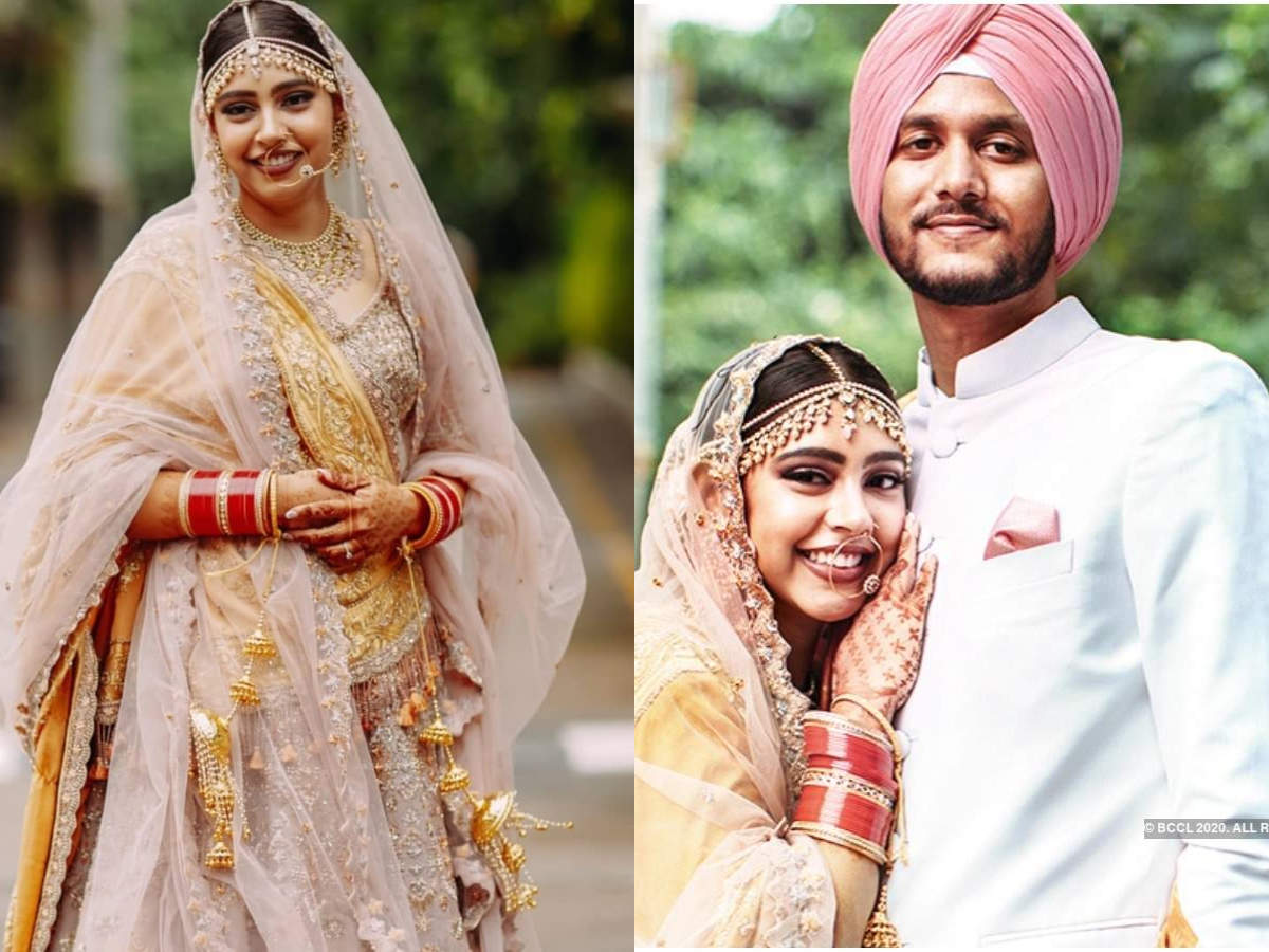 Niti Taylor gets married to fiance Parikshit Bawa in an intimate ceremony; shares about her 'COVID wedding,' honeymoon plans, and more