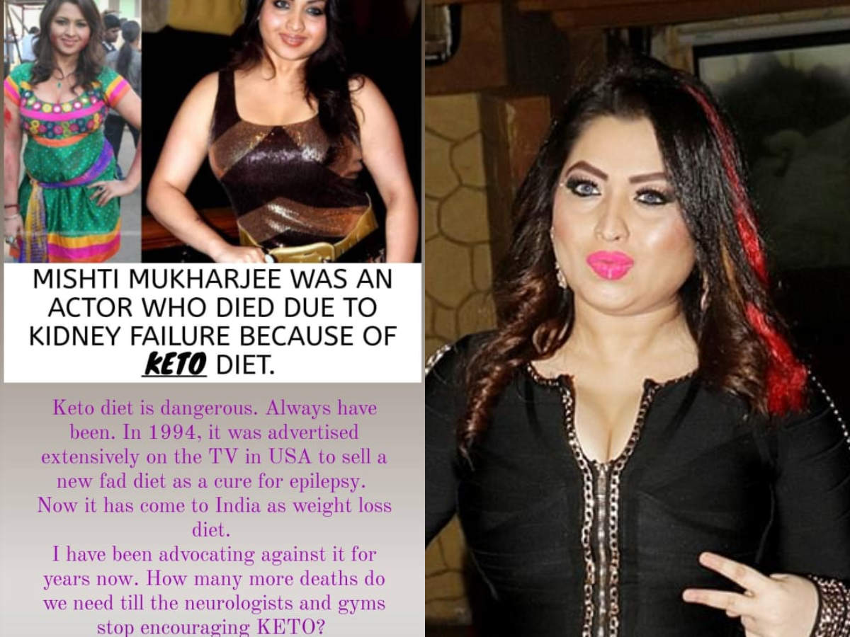 Marathi Actress Ketaki Chitale On Mishti Mukherjee S Death Keto Is Dangerous And Always Has Been Times Of India