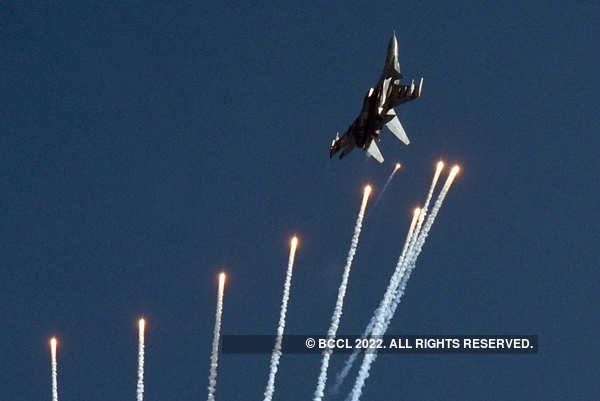Indian Air Force conducts full dress rehearsal ahead of 88th anniversary