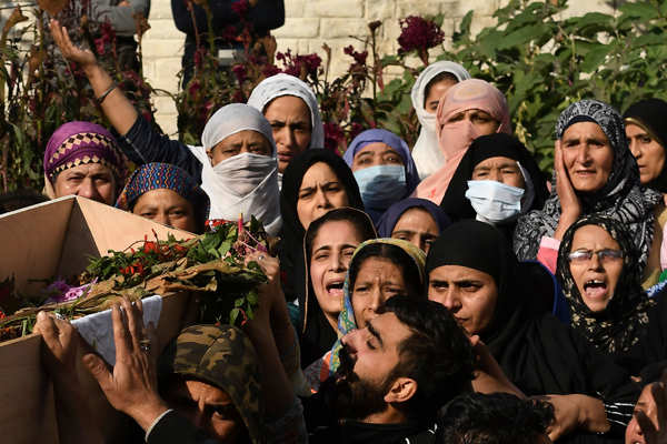 Family mourns loss of policeman martyred in terror attack