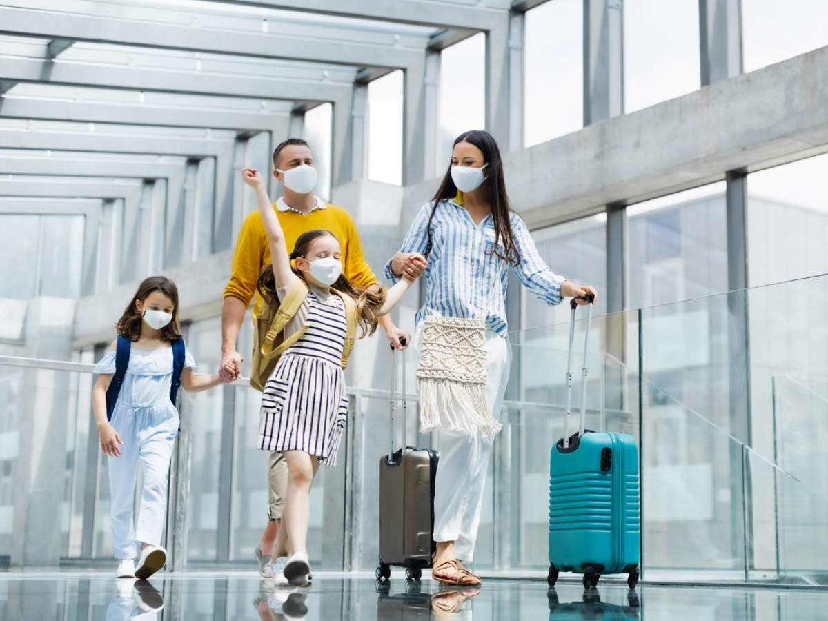 Things You Must Be Careful About When Travelling With Kids During Covid 19 The Times Of India