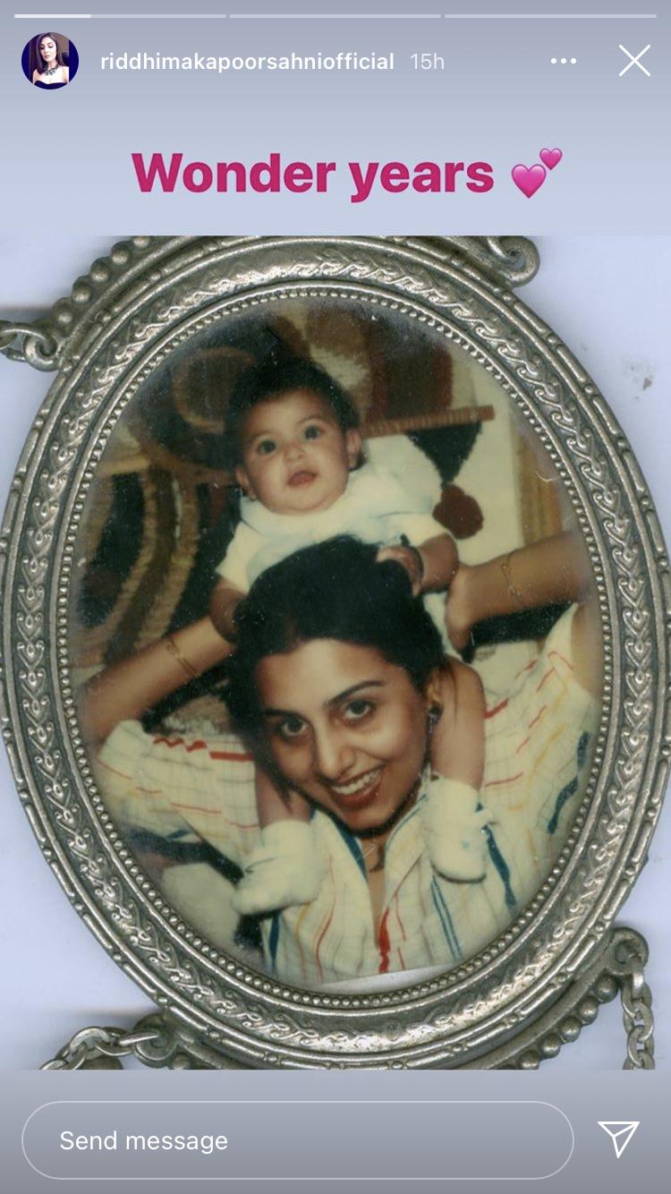 Riddhima Kapoor