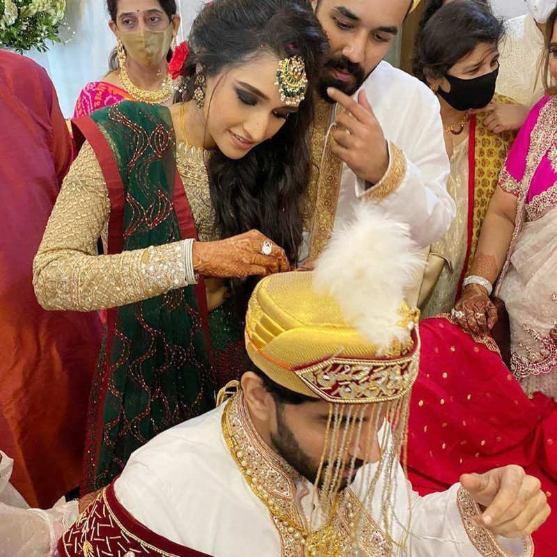 'Naam Shabana' actor Taher Shabbir gets married to Akshita Gandhi