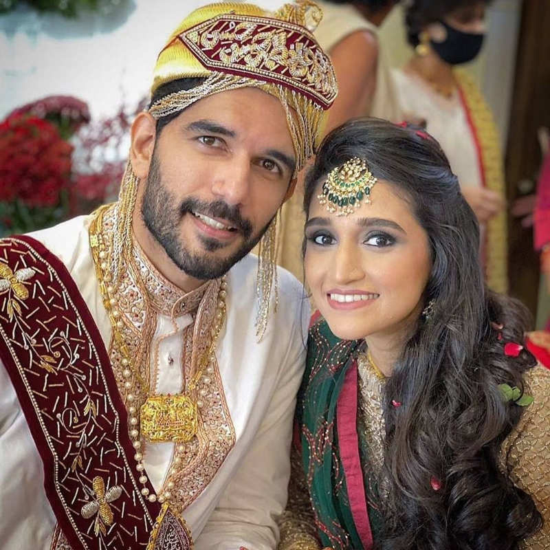 'Naam Shabana' actor Taher Shabbir gets married to Akshita Gandhi