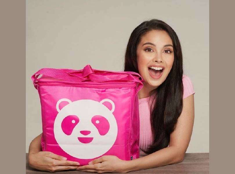 Former Miss World Megan Young is the ambassador for Foodpanda